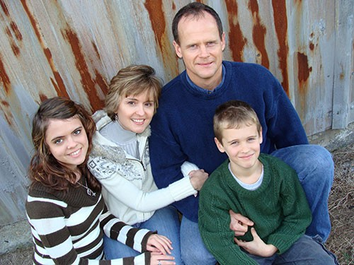 Marshall Warren and His Family